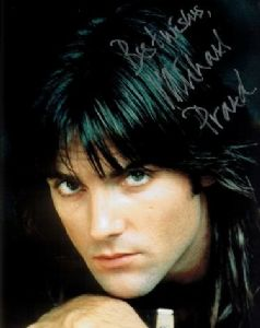 A058 - Michael Praed Signed 10x8 Robin Of Sherwood